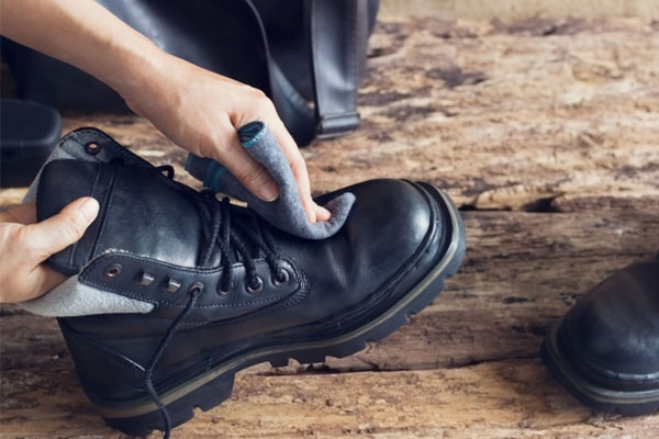 Different types of boots need distinct ways of cleaning