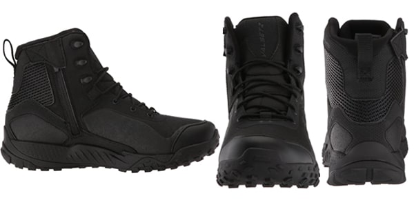 Under Armour Men's Valsetz RTS 1.5 with Zipper Military and Tactical Boots suit for Big Guys