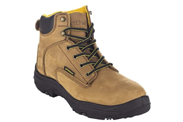"""EVER BOOTS """"Ultra Dry"""" Men's Premium Leather Waterproof Work Boots suit for Big Guys"""