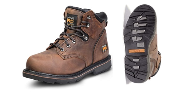 """Timberland PRO Men's 6"""" Pit Boss Steel-Toe Boots suit for Big Guys"""