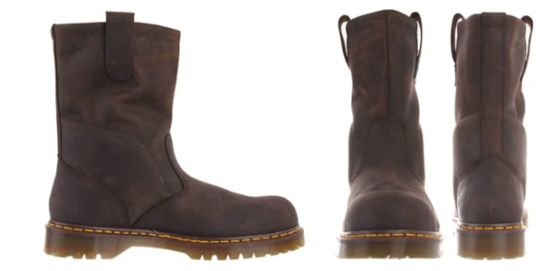 Dr. Martens, Men's Icon 2295 Steel Toe Heavy Industry Boots for Big Guys
