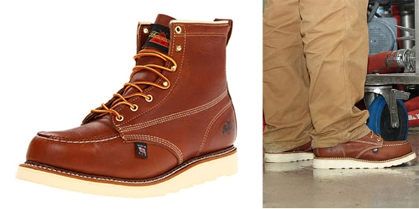 Thorogood Men's American Heritage Boots for plumbers