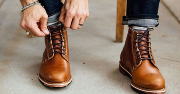 Wear the boots to walk indoor constantly