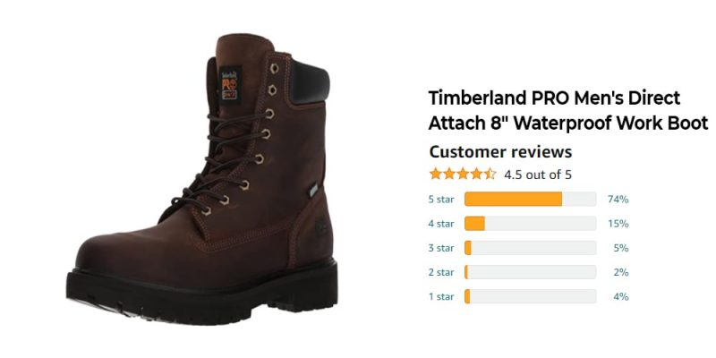 The Best 8 Inch Work Boots: Reviews, Top Picks, and Buying Guide [2021 Edition] 4
