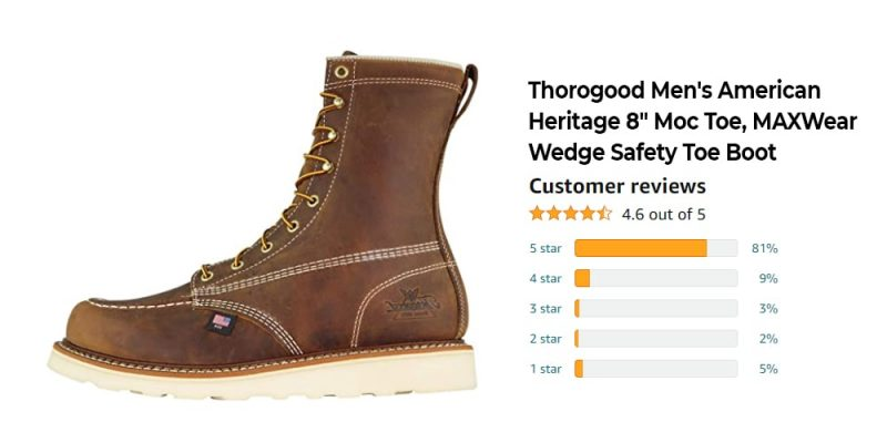 The Best 8 Inch Work Boots: Reviews, Top Picks, and Buying Guide [2021 Edition] 12