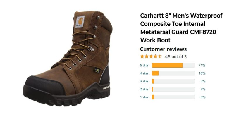 The Best 8 Inch Work Boots: Reviews, Top Picks, and Buying Guide [2021 Edition] 5