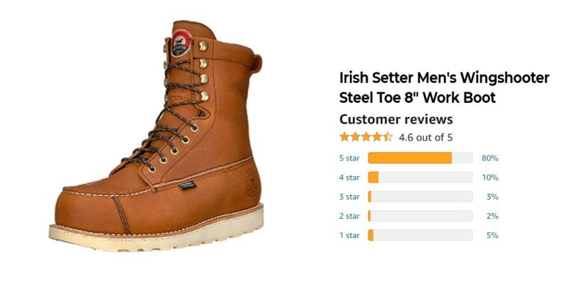 The Best 8 Inch Work Boots: Reviews, Top Picks, and Buying Guide [2021 Edition] 7