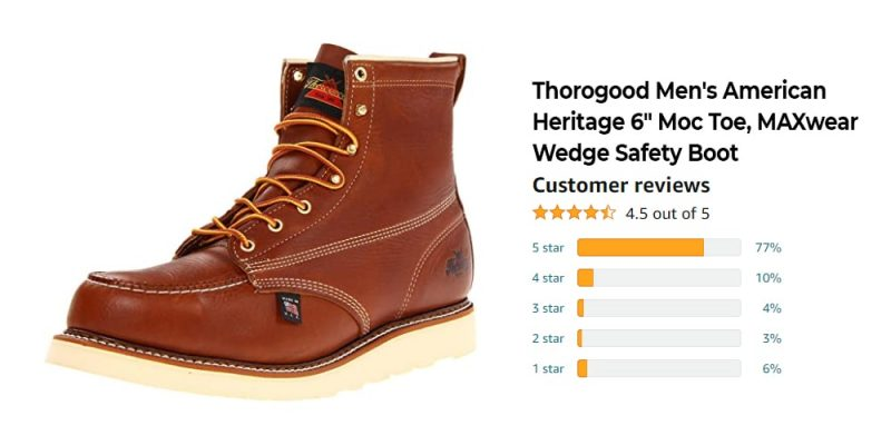 Top Rated 9 Best Work Boots for Men That Best Suitable For Your Fashion Style 8