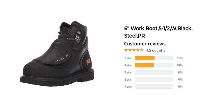 Expert's Choice: The Best Work Boots for Welders Passed Our Test [Updated 2021] 5