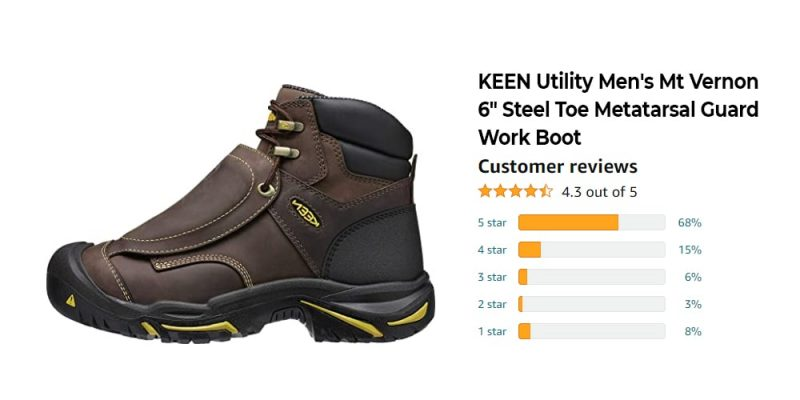 Expert's Choice: The Best Work Boots for Welders Passed Our Test [Updated 2021] 9