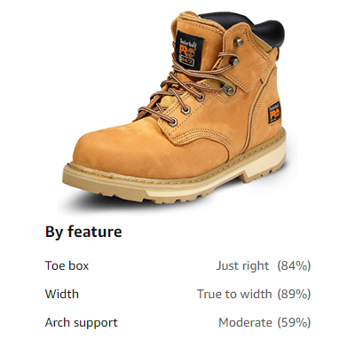 Timberland PRO Pit Boss - Best To Reduce Foot Fatigue