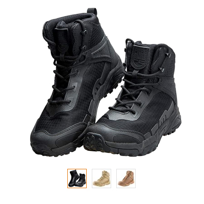 FREE SOLDIER Men's Boots 6 Inches - Best for Absorbency